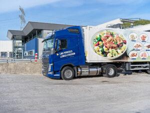 Jan Zandbergen Group - LNG powered trailer