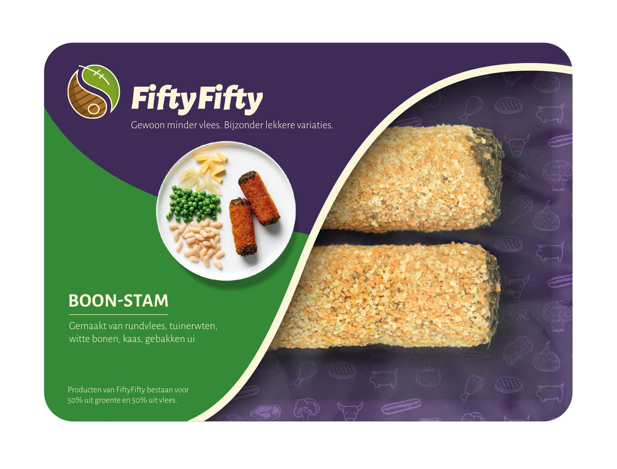 Jan Zandbergen Group - FiftyFifty plantaardige boon-stam - vleesvervanger