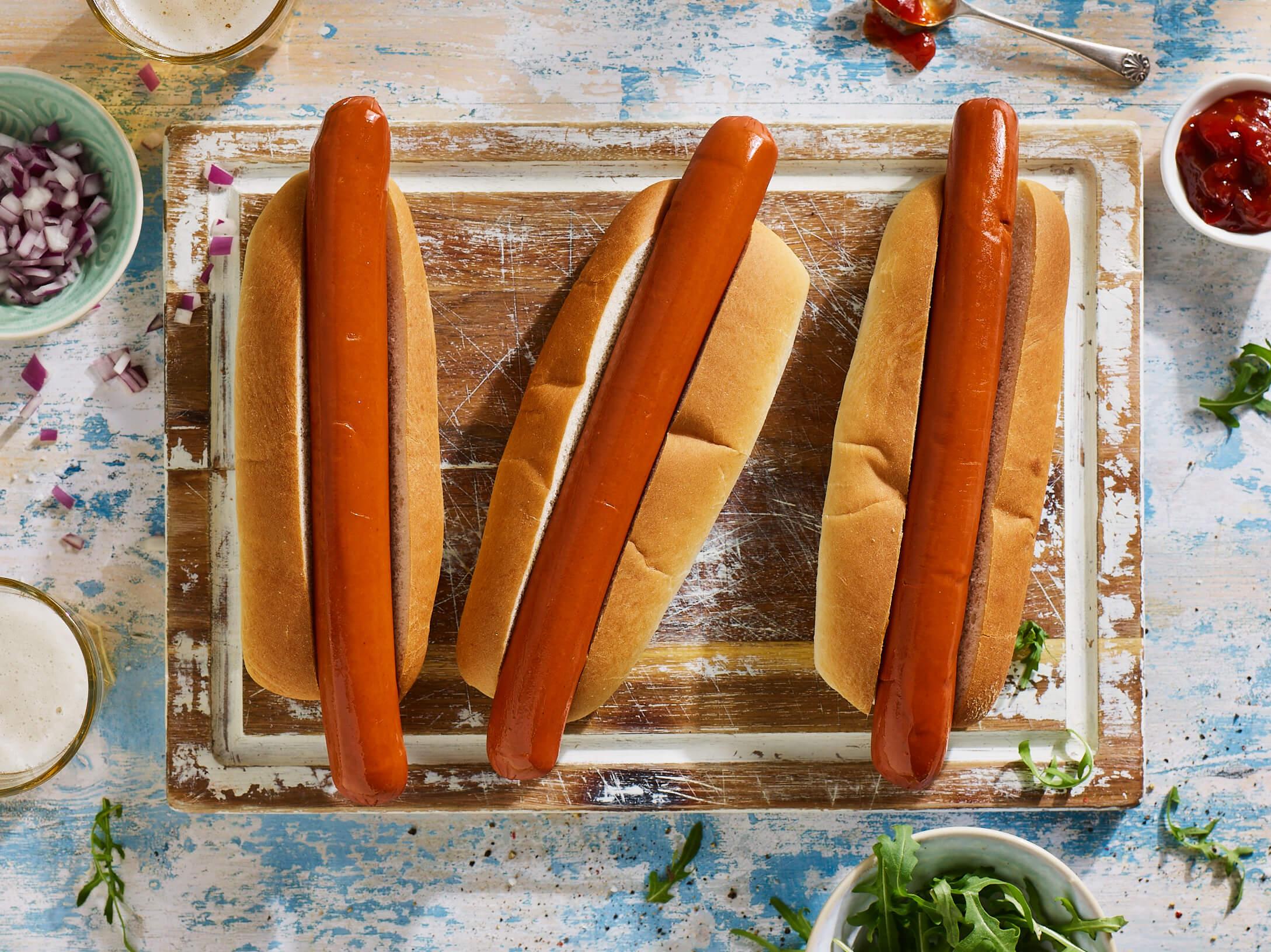 Jan Zandbergen Group - Moving Mountains hotdogs