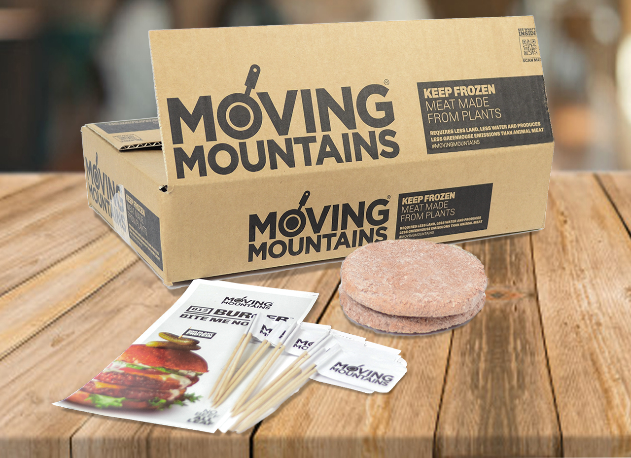 Jan Zandbergen Group - Moving Mountains® foodservice package