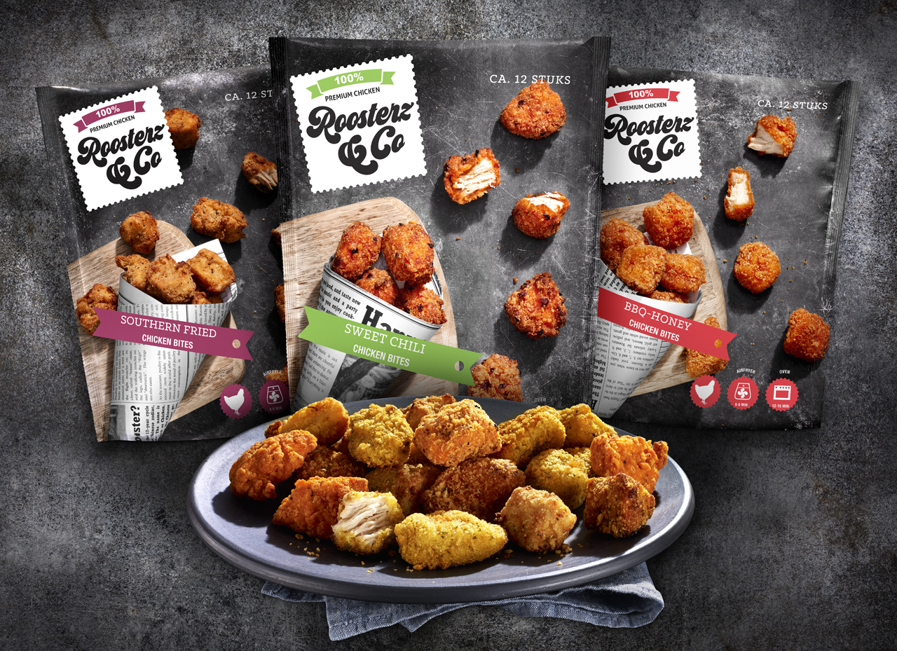 Jan Zandbergen Group - Roosterz&Co kip bites
