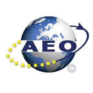 Jan Zandbergen Group - logo AEO certificaat