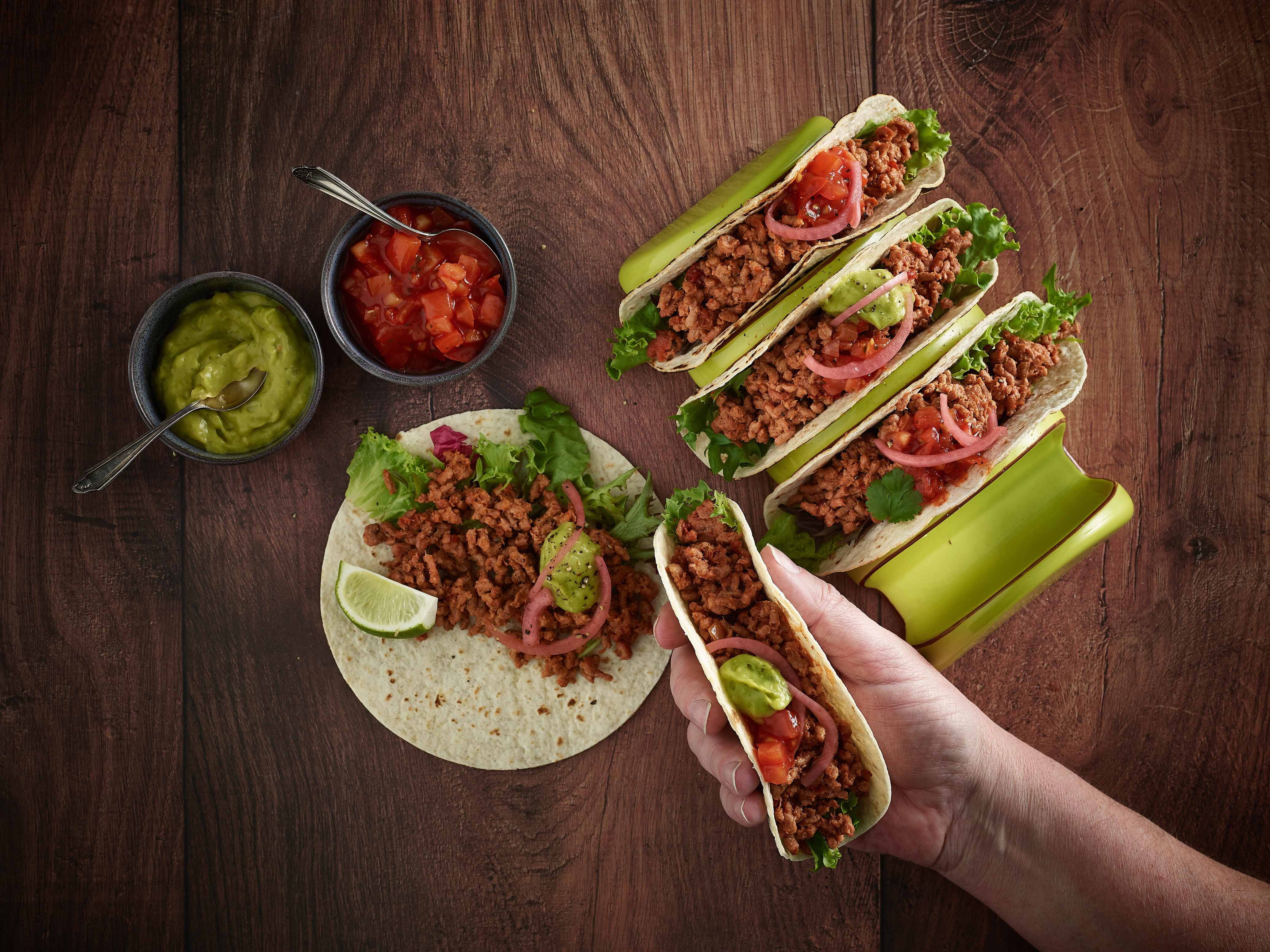 Jan Zandbergen Group - Moving Mountains taco - minced meat