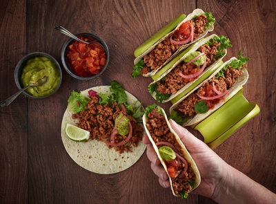 Jan Zandbergen Group - Moving Mountains® minced taco's